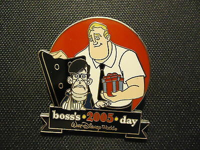 Disney Wdw Boss's Day 2005 The Incredibles Pin Le 2500