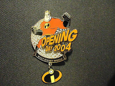 Disney Wdw Incredibles Opening Day Collection Epcot Mr. Incredible Pin Le 3000