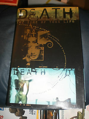 Death : The Time of Your Life by Neil Gaiman (1997, Hardcover)