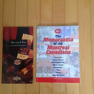 Canadiens Montreal Memorabilia Book And Auction book Closing Forum Montreal 1996