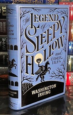 THE LEGEND OF SLEEPY HOLLOW by WASHINGTON IRVING Leather Bound Soft Cover NEW!