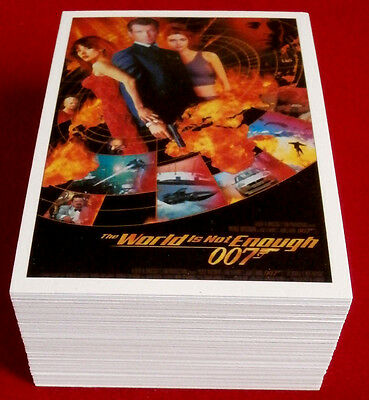 JAMES BOND CLASSICS 2016 - The World Is Not Enough - COMPLETE 72 Card Base Set