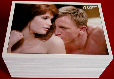 JAMES BOND ARCHIVES 2015 - QUANTUM OF SOLACE Base Set - RITTENHOUSE (90 cards)
