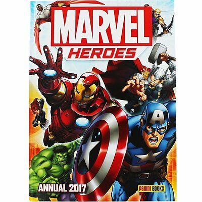 Official Marvel Heroes Annual 2017 | 9781846532238 | Hardcover | Brand New