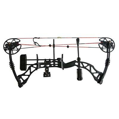 35-70lbs Adjustable Archery Hunting Compound Bow Set Late-off 80% Right Hand