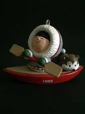 Hallmark Frosty Friends Collectors Series Christmas Ornament Sixth 1985
