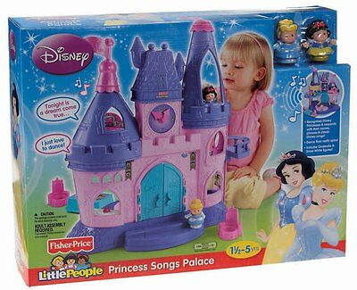 Fisher-Price Little People Disney Princess Songs Palace ..New In The Box!!