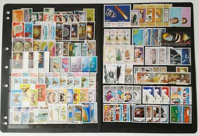 Collection Of Norfolk Island  - Mixed Lot Of 250 Different Mint Stamps
