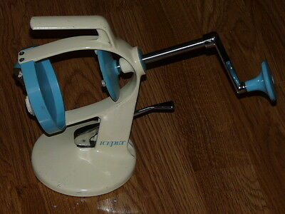 Vintage Antique IcePet Ice Shaver - Suction Base Good Condition