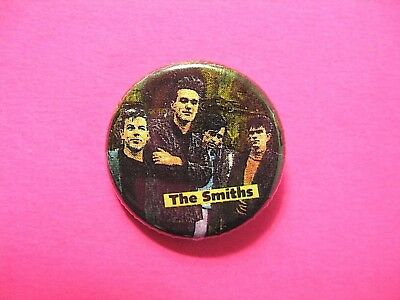 The Smiths Vintage Button Pin Badge Us Made Morrissey