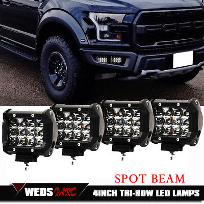 "TOYOTA Truck ATV SUV 4WD 4"" 18W LED Work Light Bar Car Driving Lamp Pods 2pcs"