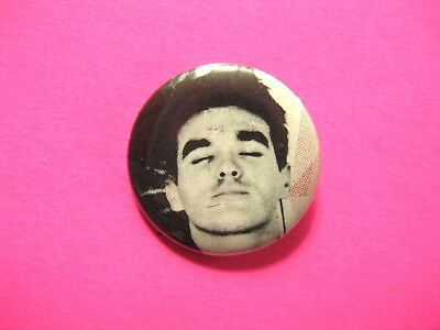 Morrissey Vintage Button Pin Badge Us Made The Smiths
