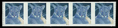 US #4141-Pl. S1111 26¢ Panther PS5 PNC5, smooth tagging, VF NH MNH