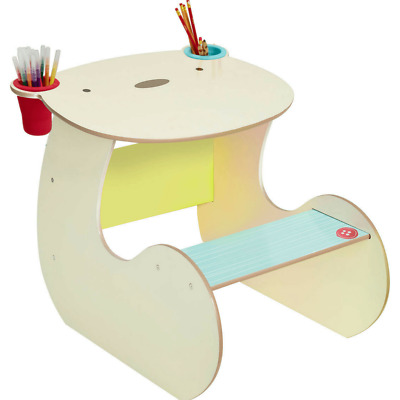 Worlds Apart Bear Hug Desk by HelloHome Kids Bedroom Study Furniture NEW