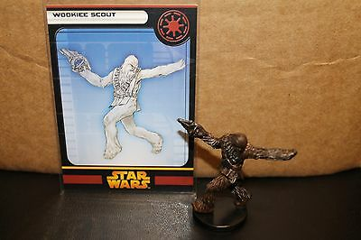 Star Wars Miniatures ROTS Wookiee Scout 23/60