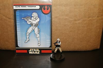Star Wars Miniatures Rebel Storm Elite Rebel Trooper 06/60