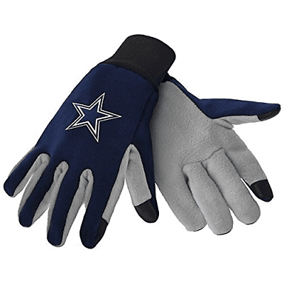 Dallas Cowboys Nfl Texting Technology Gloves Free Shipping