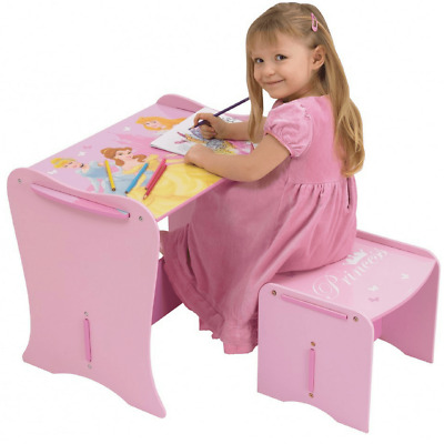 NEW Disney Princess My First Desk & Stool Worlds Apart HelloHome Kids Furniture