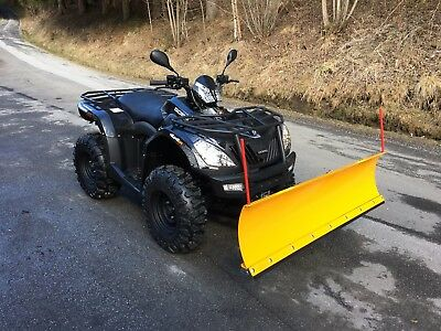 Quad ATV CF-Moto Goes Iron EFI 4x4 Winteredition + Schneeschild schwarz NEU