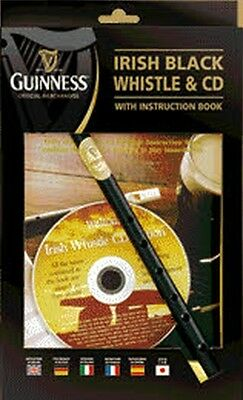 "WALTONS ""Guinness"" Tin Whistle in D mit Lehrheft & CD"