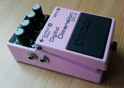 Boss DC3 Japan 1988 Digital Dimension guitar effects pedal Vintage MIJ Chorus