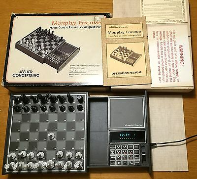 Scacchiera Elettronica - Applied Concepts/Chafitz Morphy Encore - Schachcomputer