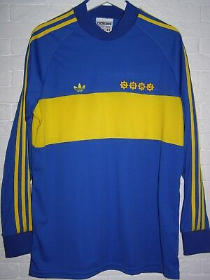 Camiseta Boca Juniors 1981 Remake Long Sleeved Home Shirt Maradona 10 Jersey New