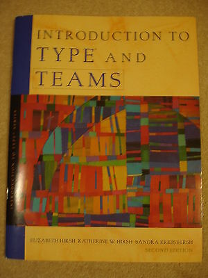 MBTI Myers Briggs INTRODUCTION TO TYPE® AND TEAMS (2ND EDITION) BOOK