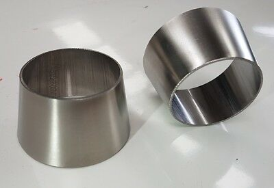 3inch to 2.5inch exhaust reducer (75mm to 63.5mm) 304 exhaust grade SS