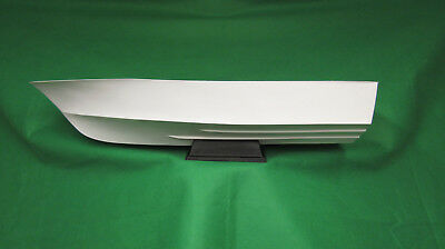 Fibreglass model boat hull  General purpose model boat hull