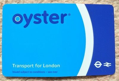 Transport for London Blue Oyster Card (not active)