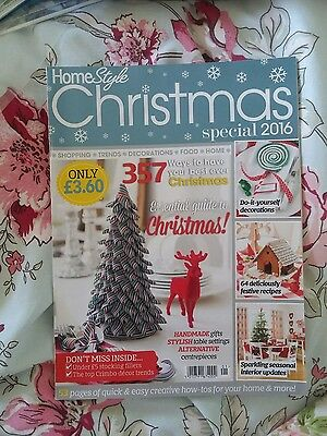 Home style Christmas special 2016 magazine ~ crafts ~ sewing ~ Reindeer