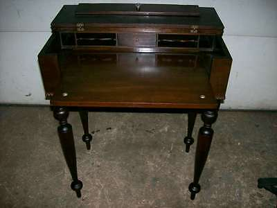 Antique Mahogany Spinet Desk