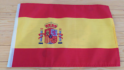 "SPAIN FLAG - 45cm x 30cm - 18"" x 12""  - Spanish flag"