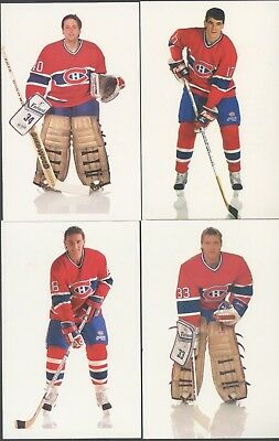 1991-92 Montreal Canadiens postcard photo card set  (Lot of 32)