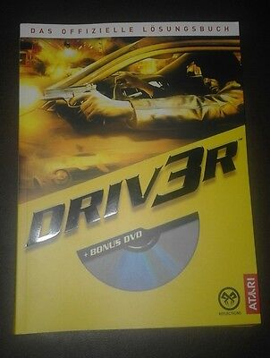 Driver 3  Platinum Edition + Lösungsbuch Playstation 2
