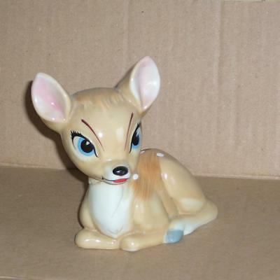 Wade blow up ceramic figurine Disney Bambi damaged and repaired