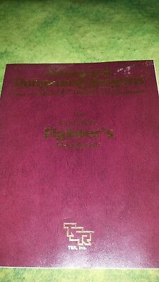 TSR 2110 AD&D 2nd Edition Rules Supplement PHBR1 The Complete Fighter's Handbook
