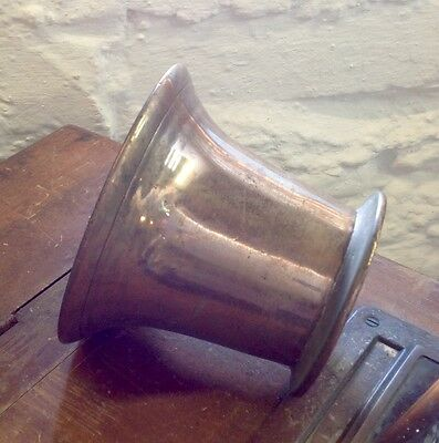 Stunning Vintage Admiralty Bronze Mortar - Salvaged Item