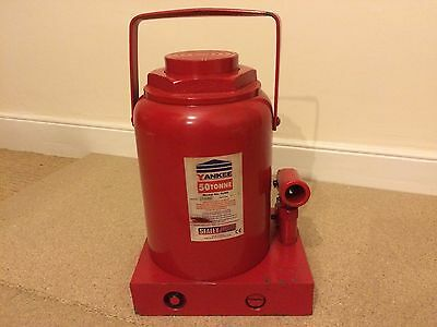 High Quality Heavyweight Sealey SJ 50 Tonne Bottle Jack * Free Postage Included*