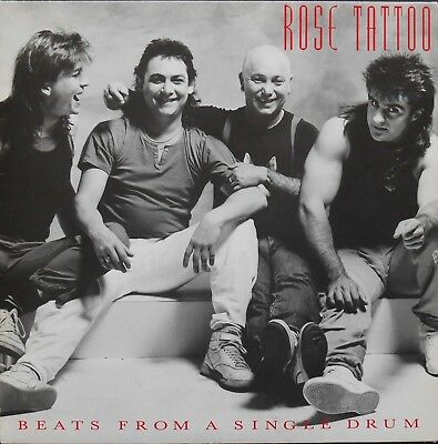 ROSE TATTOO BEATS FROM A SINGLE DRUM LP French 1986