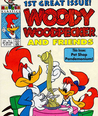 Woody Woodpecker - Vintage Comics Collection on DVD