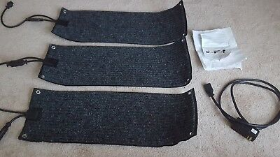 "LOT OF 3 HEATTRAK RESIDENTIAL SNOW-MELTING STAIR MAT, HMT10-30, 10""x30"",  NEW"