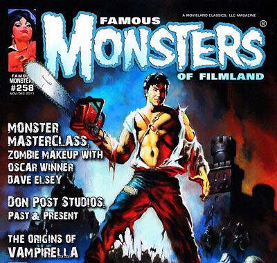 Famous Monsters of Filmland & Fantastic Monsters of The Films Magazines on DVD