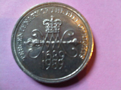 Coin Commemorative TWO POUND coin TERCENTENARY OF THE BILL OF RIGHTS