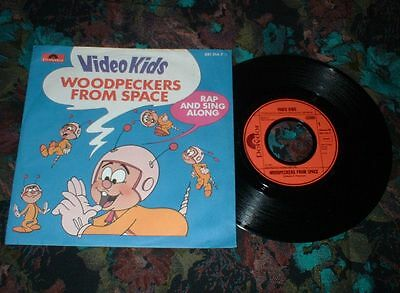 "7""Single - Video Kids - Woodpeckers from Space"