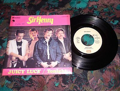 "7""Single - Sir Henry - Juicy Lucy / Tonight"