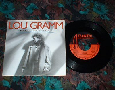 "7""Single - Lou Gramm (Foreigner) - Midnight Blue"