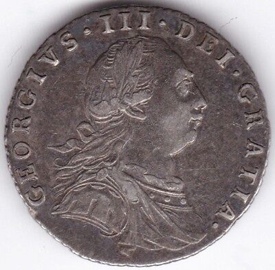 1787 George III Sixpence***Collectors***Silver***
