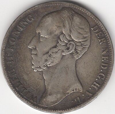 1848 Netherlands William II Silver Gulden***Collectors***
